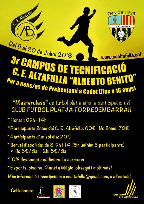 Campus Alberto Benito 2018