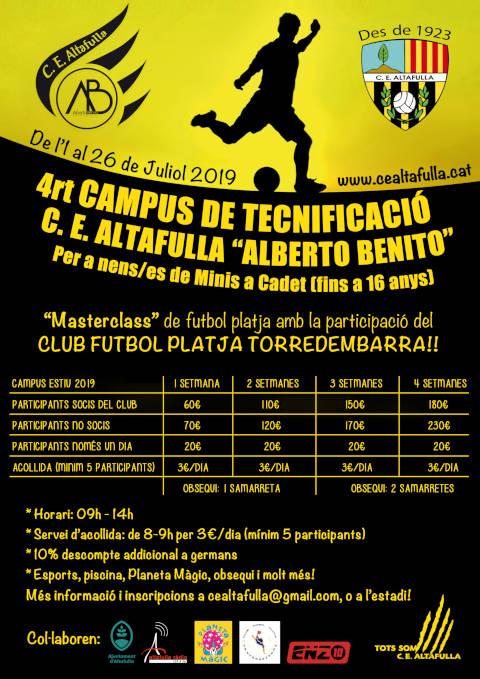 Campus Alberto Benito 2019